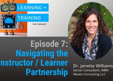 Navigating the Instructor/Learner Partnership
