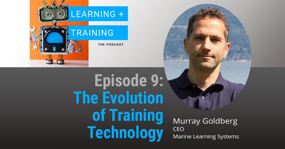 The evolution of training technology podcast episode